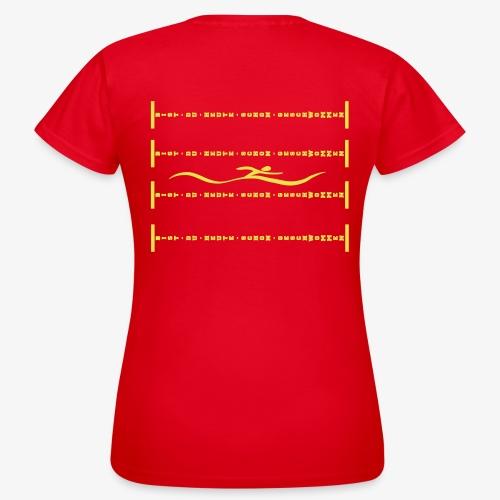 BDHSG - Rückenschwimmer - Frauen T-Shirt