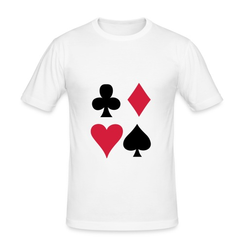 Poker - Men's Slim Fit T-Shirt