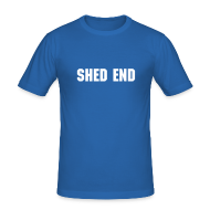 T-Shirts ~ Men's Slim Fit T-Shirt ~ Shed End