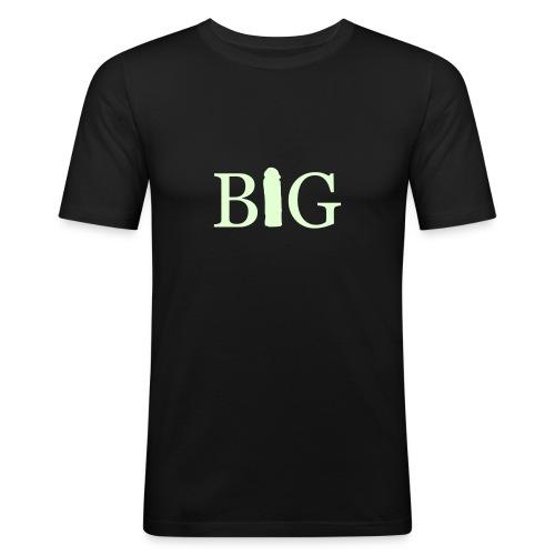 Mens Slim Fit BIG tee - Men's Slim Fit T-Shirt
