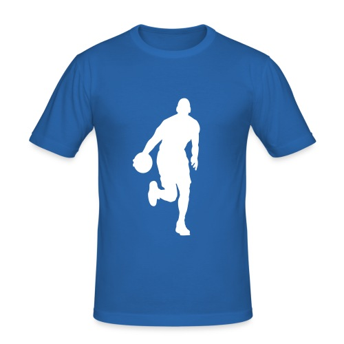 Basketball Mens Tee - Men's Slim Fit T-Shirt