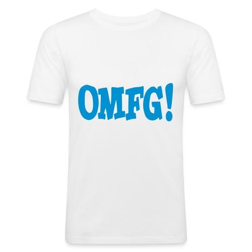OMFG! - Men's Slim Fit T-Shirt