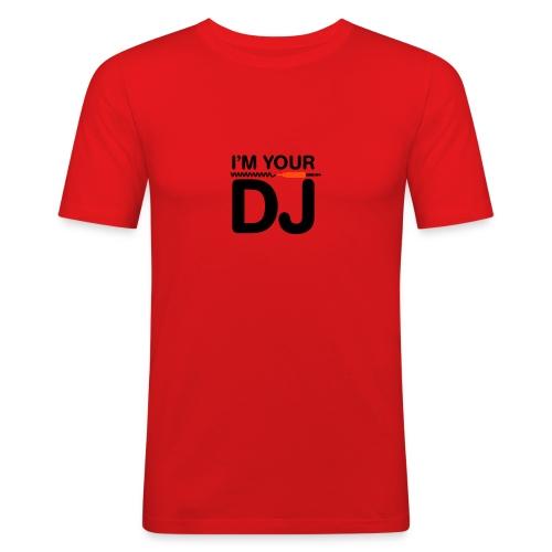 t shirt dj - T-shirt près du corps Homme