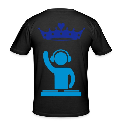 king dj - Men's Slim Fit T-Shirt