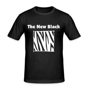 TNB Zebra Shirt - Men's Slim Fit T-Shirt
