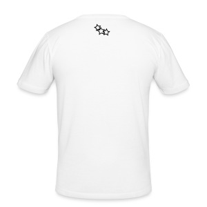 WHITE GAME OVER TEE - Men's Slim Fit T-Shirt