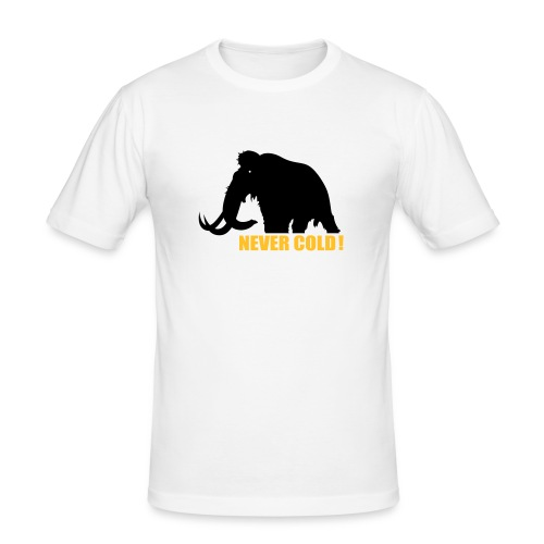 Never Cold - Men's Slim Fit T-Shirt