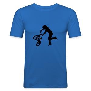 Bmx - Men's Slim Fit T-Shirt