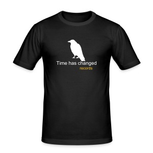 Classic crow shirt (black) - Men's Slim Fit T-Shirt