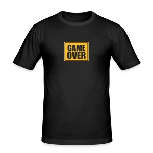 GAME OVER - Men's Slim Fit T-Shirt