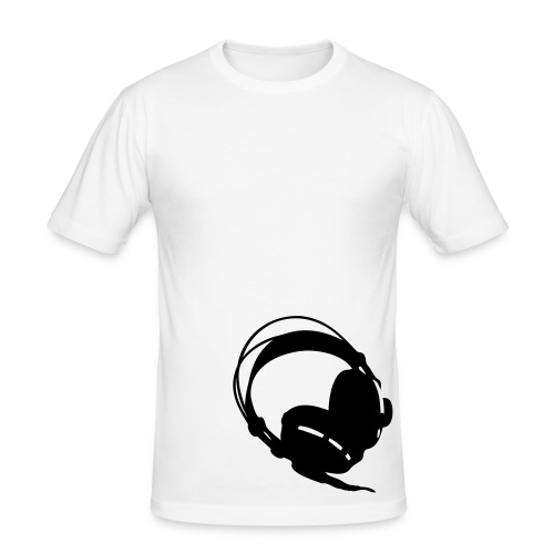 the Headphone - T-shirt près du corps Homme