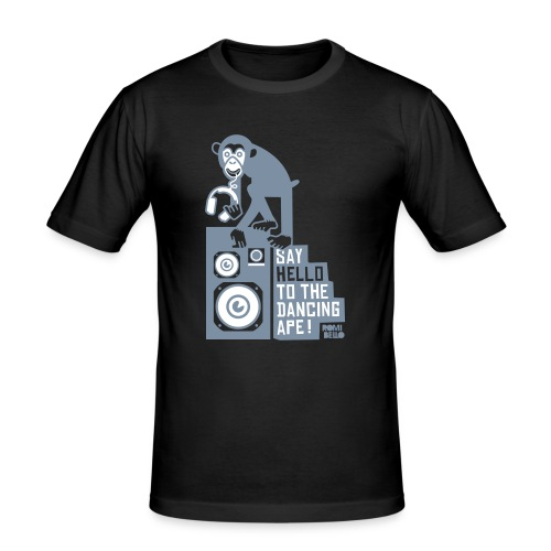 Monkey Music - T-shirt près du corps Homme