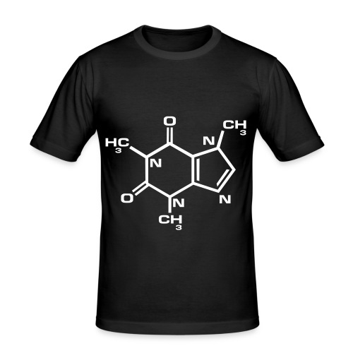 Slim Fit Unisex, Caffine? - Men's Slim Fit T-Shirt