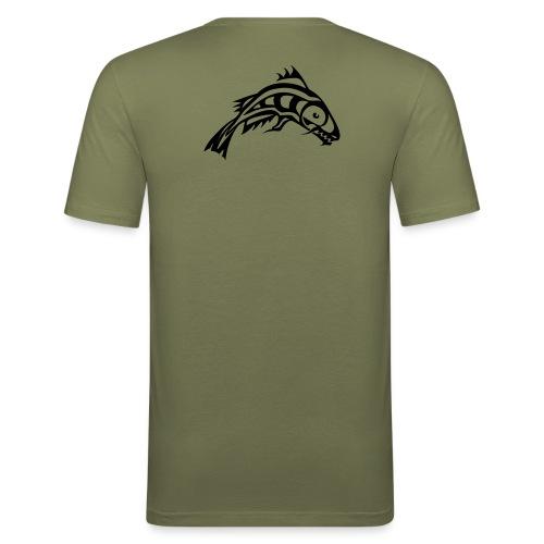 Wetfishers slimFit Oliv herr - Slim Fit T-shirt herr