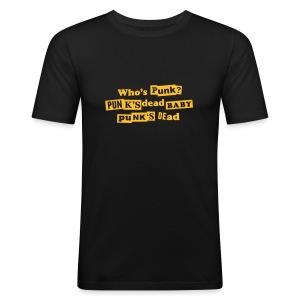 PUNK is DEAD - Men's Slim Fit T-Shirt