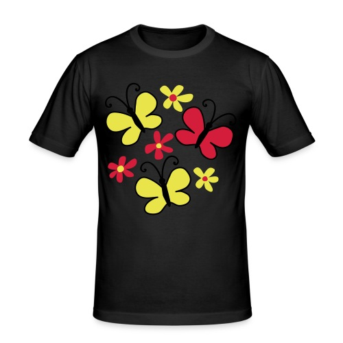 Sommer - Slim Fit T-skjorte for menn