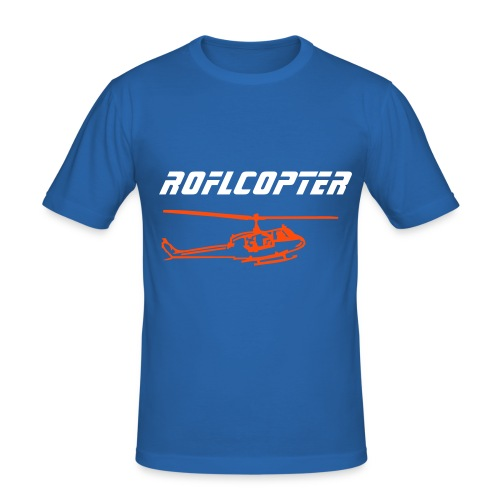 Roflcopter - Men's Slim Fit T-Shirt