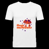 T-shirts ~ slim fit T-shirt ~ Magic Mushrooms