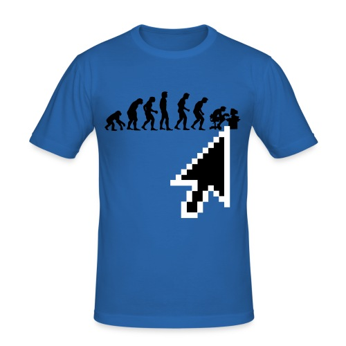 The Gamer Evolves - Men's Slim Fit T-Shirt