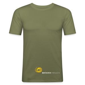T-Shirt eng auch in anderen Farben - Männer Slim Fit T-Shirt