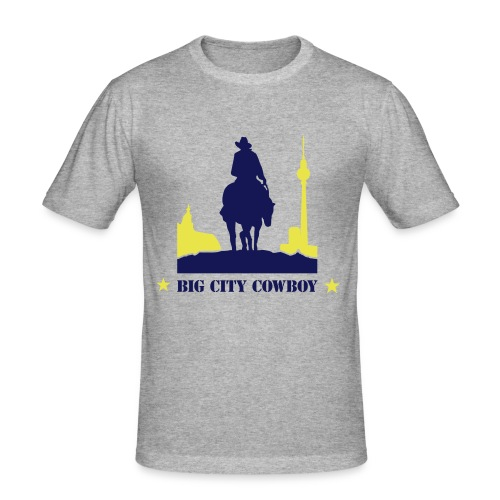 Big City Co. Tee - Männer Slim Fit T-Shirt