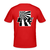 T-shirts ~ slim fit T-shirt ~ EYE black