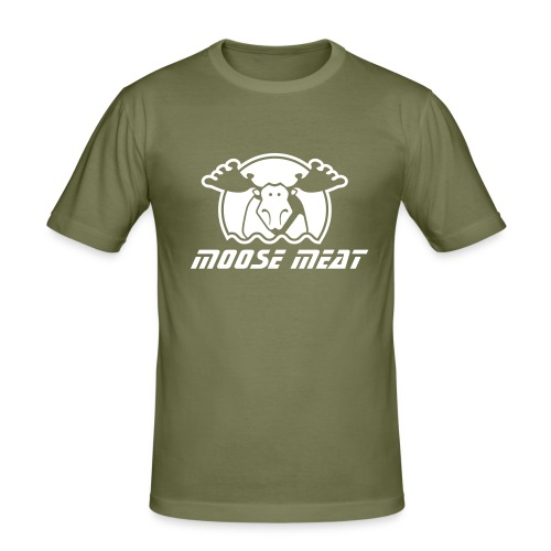 Moose Meat Slim Fit Tee.... - Men's Slim Fit T-Shirt