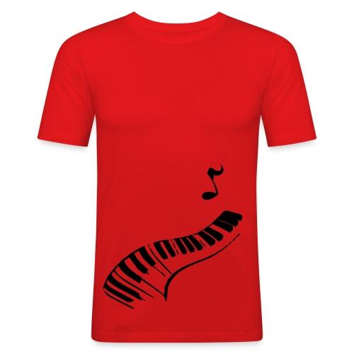 Red pjanno ! - T-shirt près du corps Homme