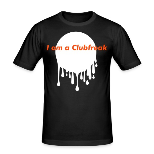 Clubfreak - Männer Slim Fit T-Shirt