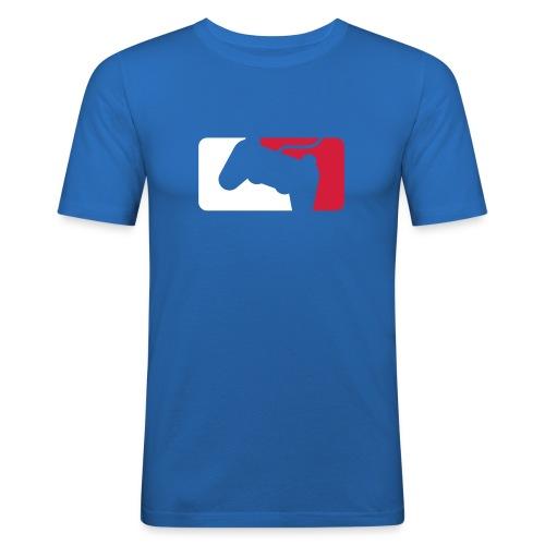 Pro Gamer Shirt Blue - T-shirt près du corps Homme