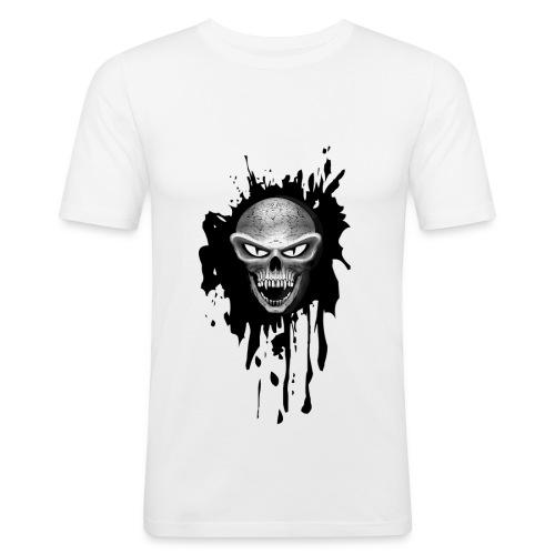 TETE DE MORT 3 - T-shirt près du corps Homme