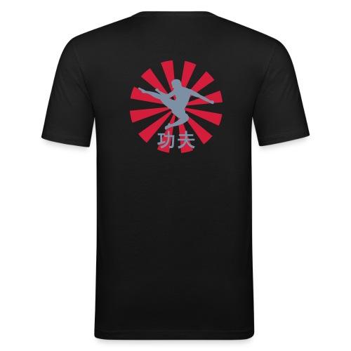 WuShu, KungFu - Männer Slim Fit T-Shirt