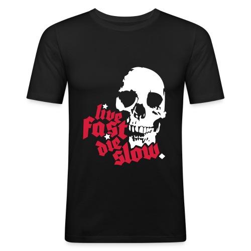 T-skjorte, mann - Slim Fit T-skjorte for menn