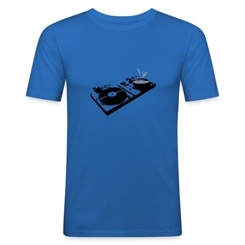 double platine  - T-shirt près du corps Homme