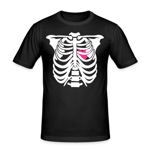 d.e.a.d. .h.e.a.r.t. - Männer Slim Fit T-Shirt