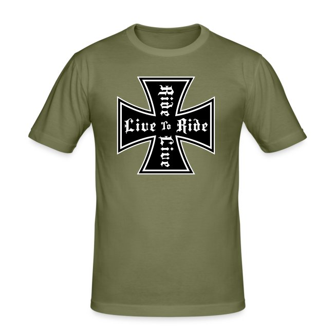 Live to ride slim fit