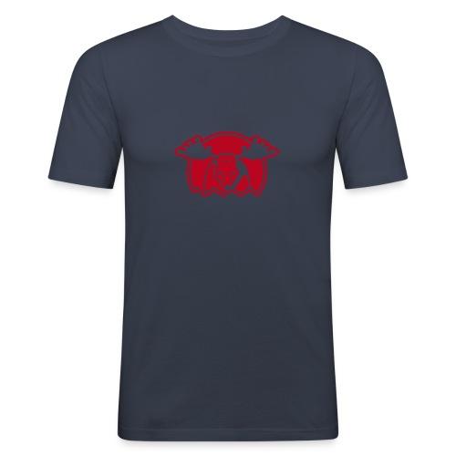 Elg - marine - slim - Männer Slim Fit T-Shirt