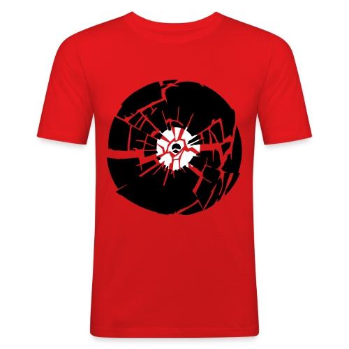 Record! - Miesten tyköistuva t-paita