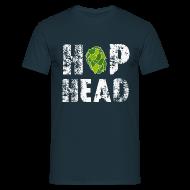 T-Shirts ~ Männer T-Shirt ~ Hop Head Shirt