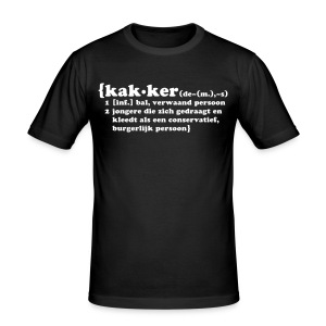 Men Wear -- Funny - slim fit T-shirt