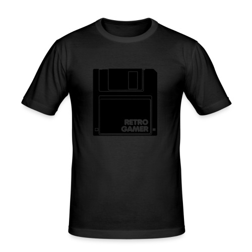 Retro Gamer - Men's Slim Fit T-Shirt