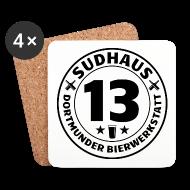Tassen & Zubehör ~ Untersetzer (4er-Set) ~ Sudhaus-13-Untersetzer