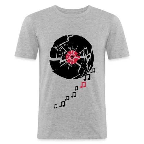 BrokenLP - Männer Slim Fit T-Shirt