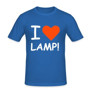I love Lamp - Anchorman Tee - Men's Slim Fit T-Shirt