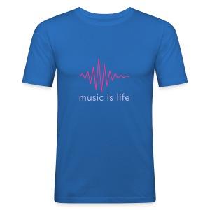 dj Broadcast - Obcisła koszulka męska