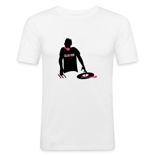 CLUBBER FASHION WHITE - T-shirt près du corps Homme