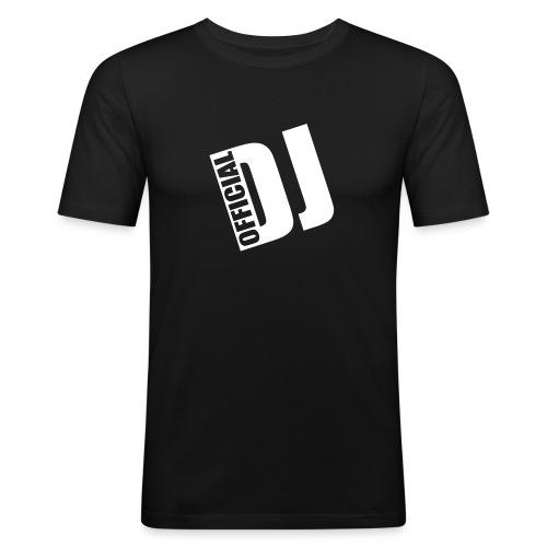 OFFICIAL DJ BASIC BLACK - T-shirt près du corps Homme