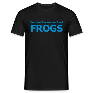 Eat Frogs Men - Männer T-Shirt