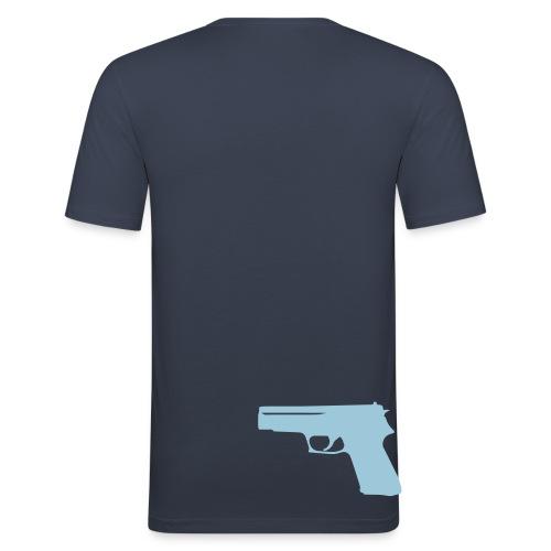 CREMO a2m - T-shirt près du corps Homme
