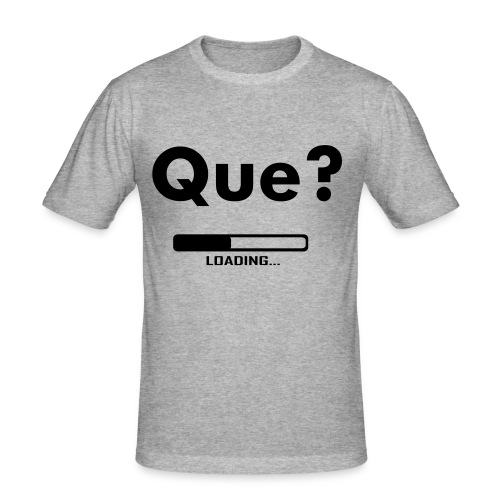 Que? - Men's Slim Fit T-Shirt